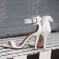 Sydney Heel in White