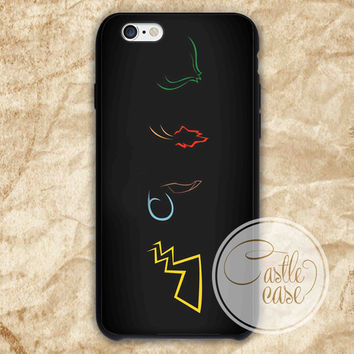 pokemon logo iPhone 4/4S, 5/5S, 5C Series Hard Plastic Case