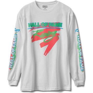 Hall of Fame - Maxima Long Sleeve Tee - White