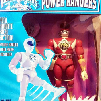 """Bandai Mighty Morphin Power Rangers Pink Fighter Kimberly Karate Action 8"""" Trading Figure"""