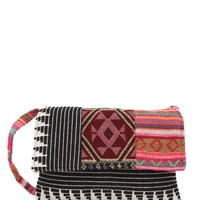 Stela 9 Mixed Print Crossbody Bag - Womens Handbags - Multi - NOSZ