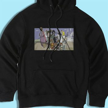 The Lord Of The Rings Adventure Time Men'S Hoodie