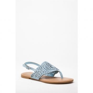 Light Blue Faux Nubuck Cut Out Sling Back Sandals @ Cicihot Sandals Shoes online store sale:Sandals,Thong Sandals,Women's Sandals,Dress Sandals,Summer Shoes,Spring Shoes,Wooden Sandal,Ladies Sandals,Girls Sandals,Evening Dress Shoes