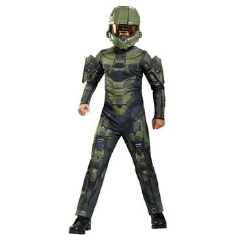 Halo Master Chief Classic Costume - Kids (Grey)