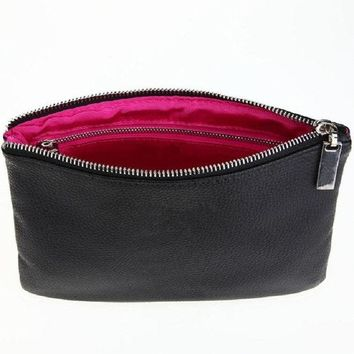 DCCKHG7 Naivety Cosmetic Bag New PU Leather Portable Multifunction Toiletry Organizer Zipper Makeup Pouch Cosmetische zak 11S60921