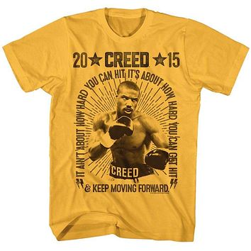 Adult Creed Vintage Boxing T Shirt