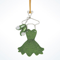 Disney Parks Tinker Bell Resin Costume Holiday Ornament New with Tags