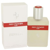 Ferrari Red Power Ice 3 by Ferrari Eau De Toilette Spray 2.5 oz (Men)