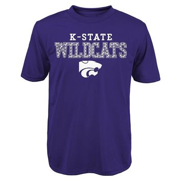 Kansas State Wildcats Fulcrum Performance Tee - Boys 8-20, Size: