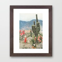 Decor Framed Art Print by Sarah Eisenlohr