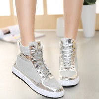Korean fashion casual flat shoes