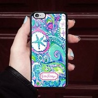 Top Lilly.Pulitzer0x0 Star Fit Hard Case For iPhone 6 6s 7 8 Plus X Cover +