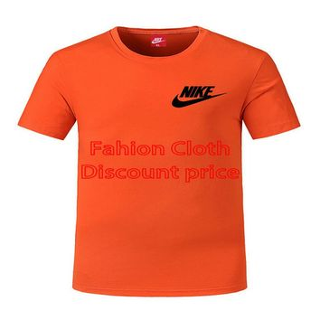 Nike Court Dri-FIT Mens Short Sleeve Top DL L-5XL 8809 Orange