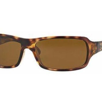 Kalete NEW Ray Ban RB4075 642/57 61 Havana Mens Womens Sunglasses Glasses Polarised