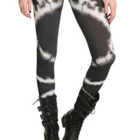 Black And White Fade Leggings