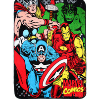 Marvel Avengers Comfy Throw