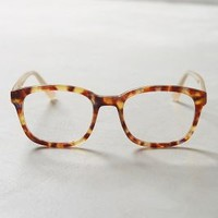 Auvers Reading Glasses by Anthropologie in Brown Size: