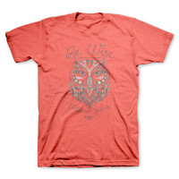 Unisex Tee Shirt Wise Owl Women's Men's Christian Clothing
