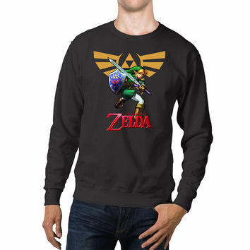 Link The Legend Of Zelda Triforce Unisex Sweaters - 54R Sweater
