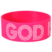 The God Is Love Gel Band wristbands