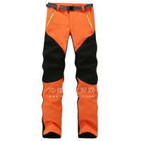 Unisex Lovers Couple Mounted Tech Pants Fleece Technical Pants Soft 2-Piece Suit Warm Waterproof Pants Field Work Camping Outdoor Trek Sport Activities Wear Protection Against Cold Travel Mountaineer Skiing Rock Climbing Hiking = 1930365060