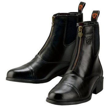 Ariat Ladies Heritage III Zip Paddock Boot - Black