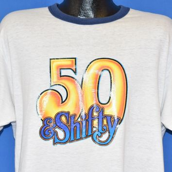 80s 50 & Shifty Sweet Old Bob t-shirt Extra Large