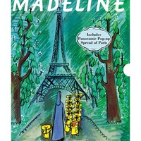 Toddler 'Madeline - 75th Anniversary Edition' Book - Green
