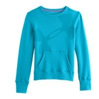 Under Armour Girls UA Hype Cotton Crew Sweatshirt