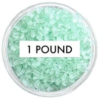 Soft Green Chunky Sugar 1 LB