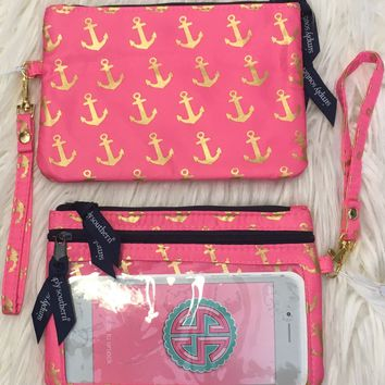Simply Southern Anchor Wristlet