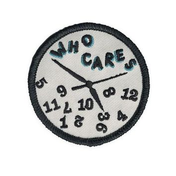 Who Cares Lazy Clock Patch