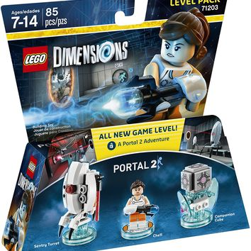 Portal 2 Ninjago Nya Wicked Witch Bundle Pack By LEGO Dimensions | Building Blocks For Boys & Girls