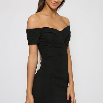 Vance Joy Dress - Black