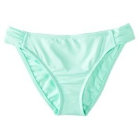 Mossimo® Women's Mix and Match Molded Cup Bandeau Swim Top -Isle Green