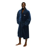Denver Broncos NFL Men's Silk Touch Bath Robe (L/XL)
