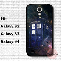 Tardis in Space Samsung case, Doctor Who Galaxy S2 case, Galaxy S3 case, Galaxy S4 case, phone case for galaxy s2,s3,s4