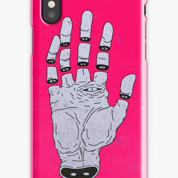 'THE HAND OF ANOTHER DESTYNY' iPhone Case by MRCLV