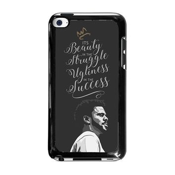 J COLE LYRIC LOVE YOURZ iPod Touch 4 Case Cover