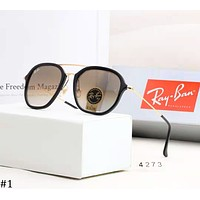 RayBan trend men and women color film retro gradient polarized sunglasses #1
