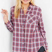 BDG Double Cloth Button-Down
