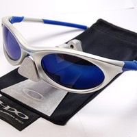 Oakley Eye Jacket 3.0 FMJ+ Ice Blue Sonnenbrille Juliet Moon Sub Zero Twenty XX