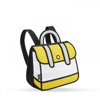 Yellow Stripe Backpack | JumpFromPaper ®