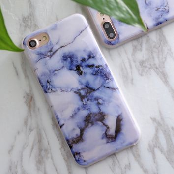 Marbled iPhone X Case, Multiple Designs