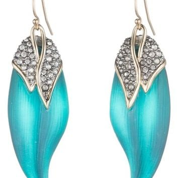 Alexis Bittar Crystal Encrusted Capped Feather Earrings | Nordstrom
