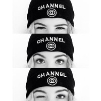 CHANEL:fashion men's and women's knitted cap