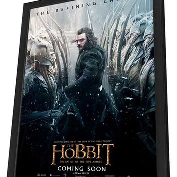 The Hobbit: The Battle of the Five Armies 11x17 Framed Movie Poster (2014)