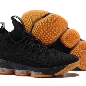 Nike Lebron 15 Black Gum - Beauty Ticks