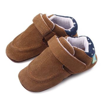Baby Shoes Toddler Anti-slip Leather Shoes for For Newborns Kids Soft Sole First Walkers Casual Children's Shoes