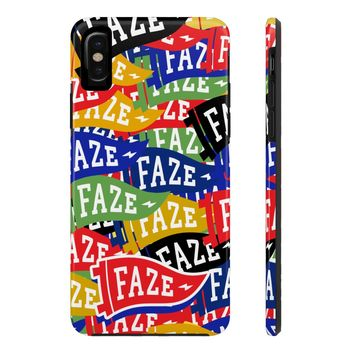 **Online Exclusive** FAZE Flag Tough iPhone X Phone Case